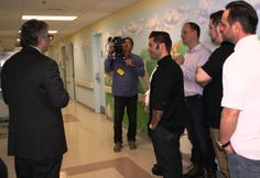 Our #cooking4kids Featured Chefs received a guided tour of St. Joseph's Children's Hospital led by Michael Lamacchia, MD, Chairman of Pediatrics. Be a part of the #cooking4kids team by purchasing a ticket today and receiving the discounted pre sale price!