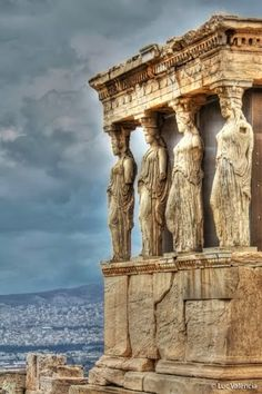 I think I might know the Acropolis in Athens better than the town I live in thanks to my Art History professor.   One day...