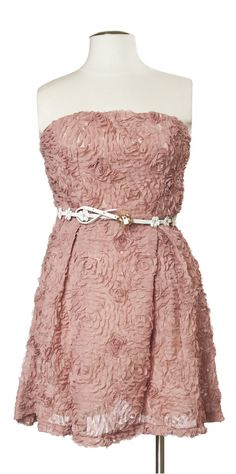 Wedding in Marin Dress in Dusty Rose Baby Couture, Pretty Dresses, Pink Dresses, Dress Shapes, Vintage Inspired Dresses, Skinny Belt, Wedding Inspiration, Wedding Ideas, Belted Dress