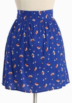 printed skirt  i have skirts like this and i love them