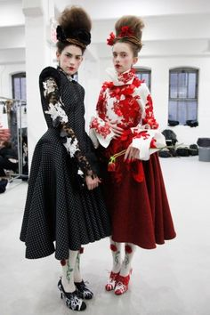 Thom Browne Pushes Boundaries (And Buttons!) Backstage