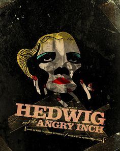abstracted // Hedwig and the Angry Inch [Mitchell/Trask] Hedwig, Light Film, Dramatic Arts, People Leave, Glam Rock, World Best Photos, Movies And Tv Shows, Make Me Smile, Movie Tv