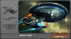 The Guardian-class was a type of cruiser deployed by the Federation Starfleet in the early 25th century. (STO website: Dev Blogs; STO video game: Delta Rising) The Guardian-class entered service in 2410. (STO video game: Delta Rising)
