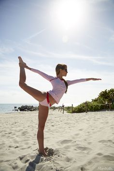 Mix sunshine with yoga time, and get your workout in wherever you go.