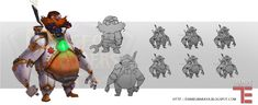 Dungeon+Defenders+Man+In+the+Machine+Concept+Art+by+DanielAraya.deviantart.com+on+@deviantART