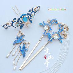 Neck Accessories, Kawaii Accessories, Jewelry Accessories, Fashion Accessories, Kawaii Jewelry, Cute Jewelry, Hair Jewelry, Hanfu, Magical Jewelry