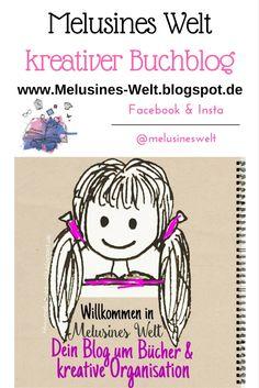 Kreativer Buchblog freut sich auf neue Leser! Ahnenforschung, Bücher, Rezensionen, Interviews, Kreativ, Reiseberichte, Bastelideen, Tipps, Ideen, Inspirtion auf www.Melusines-Welt.blogspot.de