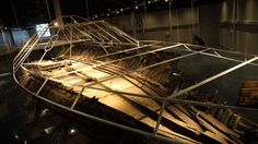 The remnants of the Civil War ironclad CSS Neuse are on permanent display in Kinston