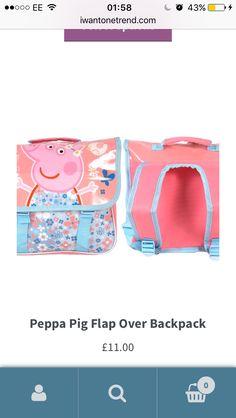 Peppa Pig, Take That, Backpacks, Stuff To Buy, Women's Backpack, Backpack