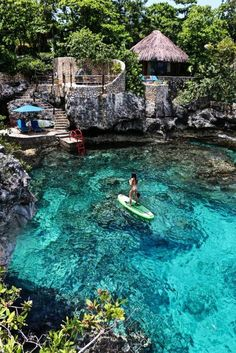 The Most Photo-Worthy Place In Jamaica: Rockhouse Hotel - J. - The Most Photo-Worthy Place In Jamaica: Rockhouse Hotel How To Prepare For Your Caribbean Travels VL Pure Skincare - Vacation Places, Dream Vacations, Vacation Spots, Greece Vacation, Oh The Places You'll Go, Cool Places To Visit, Familienfreundliche Hotels, Hilton Hotels, Cheap Hotels