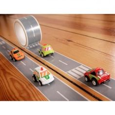 Turn any flat surface into a race course with the My First Autobahn Tape Gallery by Donkey!  Each set comes packaged in a gift box and includes tape and car - perfect for both decoration and play!   Looking for something a little different?  Not into the standard when it comes to the gifts for kids?  Donkey products are unique, functional and guaranteed to delight!  Donkey Products | My First Autobahn | Kids Gifts Online
