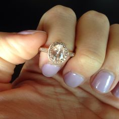 14k rose gold pink morganite ring 14k rose gold pink morganite engagement ring. Size 5. Perfect condition. Bought at Fred Meyer jewelers for $1500 will take $1000 obo Jewelry Rings