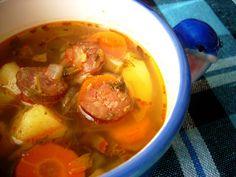 Mancaruri simple: Zeama de cartofi cu carnat afumat Pot Roast, Ethnic Recipes, Food, Carne Asada, Roast Beef, Meal, Essen, Hoods, Meals