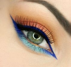 BLUE ARABIC Makeup