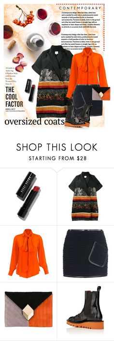 """Chic Oversized Coat"" by lacas ❤ liked on Polyvore featuring Bobbi Brown Cosmetics, Delpozo, Barbara Bui, Pierre Hardy, barbarabui, oversizedcoats and ShahidaParides"
