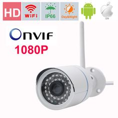 Independent Heanworld H.264 Video Surveillance Surveillance Cameras Metal Waterproof 1080p Ip Camera 4pcs White Light Led Hd Security Indoor And Outdoor Cctv Camera 6mm Lens Complete In Specifications
