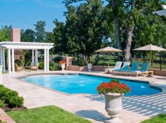 Pools built on a slope swimming pools and retaining - Swimming pool companies in memphis tn ...