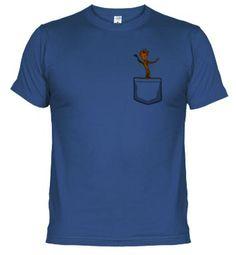 Camiseta Groot Pocket