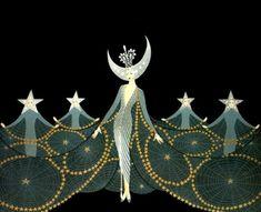 Queen of the Night ~ Erte