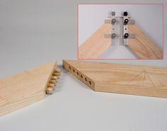 Gabarit ''Joint-Génie'' professionnel pour assemblages à tourillons - HM diffusion