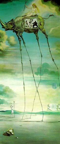 Salvador Dali, Celestial Ride
