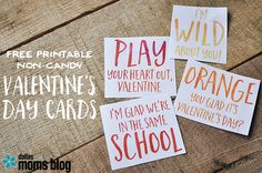 Non-Candy Valentines for Kids | Dallas Moms Blog