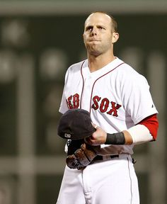 BOSTON, MA - AUGUST Dustin Pedroia of the Boston Red Sox reacts after grounding out in the sixth inning with men on base against the Los Angeles Angels at Fenway Park on August 2014 in Boston, Massachusetts. (Photo by Jim Rogash/Getty Images) Baseball Socks, Baseball Cards, Mlb American League, Dustin Pedroia, Tampa Bay Rays, Fenway Park, Toronto Blue Jays, Team Photos, Baltimore Orioles