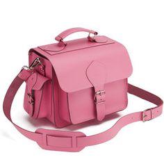 Grafea Leather Camera Bag  - Pink: Image 2