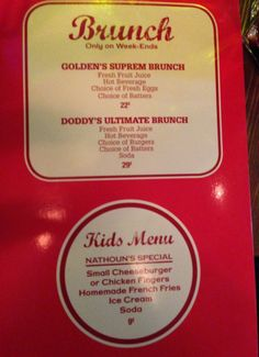 menu brunch doddy's coffee - les restos de boulogne