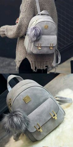 1f932c3c11af Cheap Leisure Frosted PU Zippered Bag With Metal Lock Match School Backpack  For Big Sale!Leisure Frosted PU Zippered Bag With Metal Lock Match School  ...