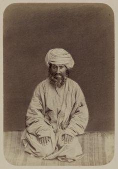 Tipos de nacionalidades en el krai de Turquestán. Afganos. Ayaz Khan — Visor — Biblioteca Digital Mundial