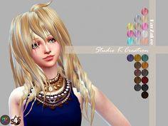 Studio K Creation: Animate hair 70 - Matoka • Sims 4 Downloads