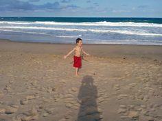 Reinhardt on St Lucia beach