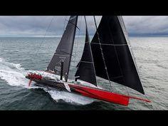 Comanche, 30 metri di velocità pura: quando navigare a vela fa paura!