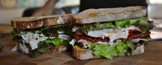 "sandwiches-Sandwich #25–""Hold the Avocado"" Turkey BLT"