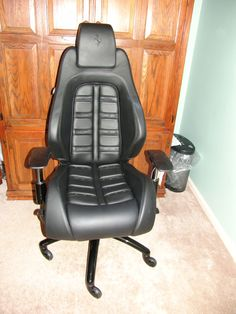 racechairs takes the seats from actual ferraris lamborghinis maseratis and other exotic cars car seats office chairs