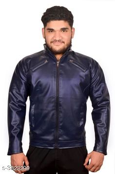 Jackets Trendy Men's PU Leather Jacket Fabric: PU Leather Sleeves: Full Sleeves Are Included Size:  M  L XLXXL  (Refer Size Chart) Length: Refer Size Chart Type: Stitched Description: It Has 1 Piece of Men's Jacket Pattern: Solid Country of Origin: India Sizes Available: XXS, XS, S, M, L, XL, XXL *Proof of Safe Delivery! Click to know on Safety Standards of Delivery Partners- https://ltl.sh/y_nZrAV3  Catalog Rating: ★3.9 (3194)  Catalog Name: Elegant Men's PU Leather Jackets Vol 4 CatalogID_459837 C70-SC1209 Code: 435-3323299-