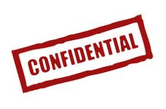 My pastoral confidentiality policy
