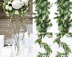 BellasBloomStudio Eucalyptus Garland, Seeded Eucalyptus, Eucalyptus Wedding, Garland Wedding, Wedding Flowers, Wedding Decorations, Wedding Backdrops, Magnolia Garland, Magnolia Leaves