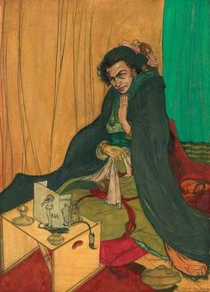 Austin Osman Spare (English artist/occultist 1886~1956)