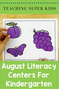 Basic back to school literacy centers for Kindergarten. Included in this set: * Tracing Lines * Cutting * Lacing * Letter practice activities *Sorting things by color * Name writing activity Kindergarten Centers, Kindergarten Activities, Literacy Centers, Learning Activities, Preschool Ideas, Teaching Ideas, Name Writing Activities, Color Activities, Hands On Activities