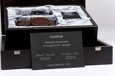 Fujifilm X100 Limited Edition Box