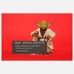 Yoda Teachings 2.0 10x8 - The Secret Life Of Toys - Prints Outside The (Toy) Box on Fab.