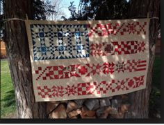 From squash House Quilts . The blues are from Barbara Brackman and the reds are from French General.