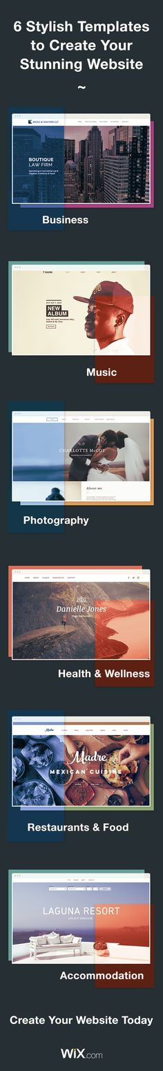 Create your own stunning website with 100s of designer-made templates. It's free!