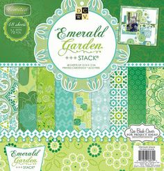 March 2015 DCWV 12''x12'' Emerald Garden Stack