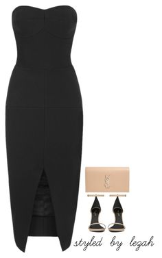"""""""Untitled #46"""" by styledbylezah ❤ liked on Polyvore featuring Yves Saint Laurent and Maticevski"""