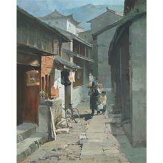 STREET OF LIJIANG, YUN NAN By Mian Situ
