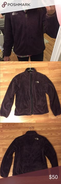 Selling this Dark purple Osito NorthFace jacket on Poshmark! My username is: erikarae5. #shopmycloset #poshmark #fashion #shopping #style #forsale #North Face #Jackets & Blazers