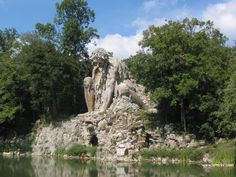 Appennino Colossus, giant fountain made by Giambologna in Villa Demidoff Park near Florence, Italy Beautiful World, Beautiful Gardens, Beautiful Places, Italy Location, Italy Honeymoon, Italy Tours, Italy Trip, Travel Alone, Sculpture